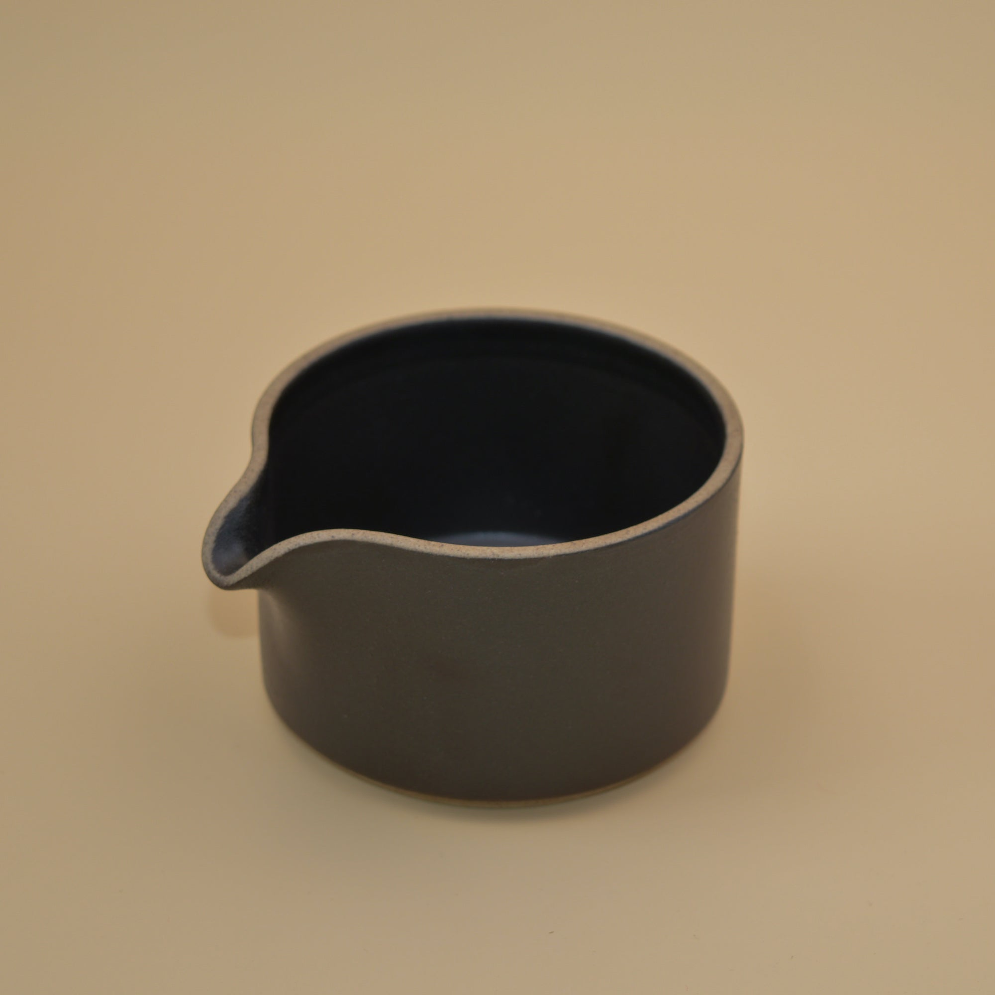 Hasami Porcelain Milk Pitcher (black)