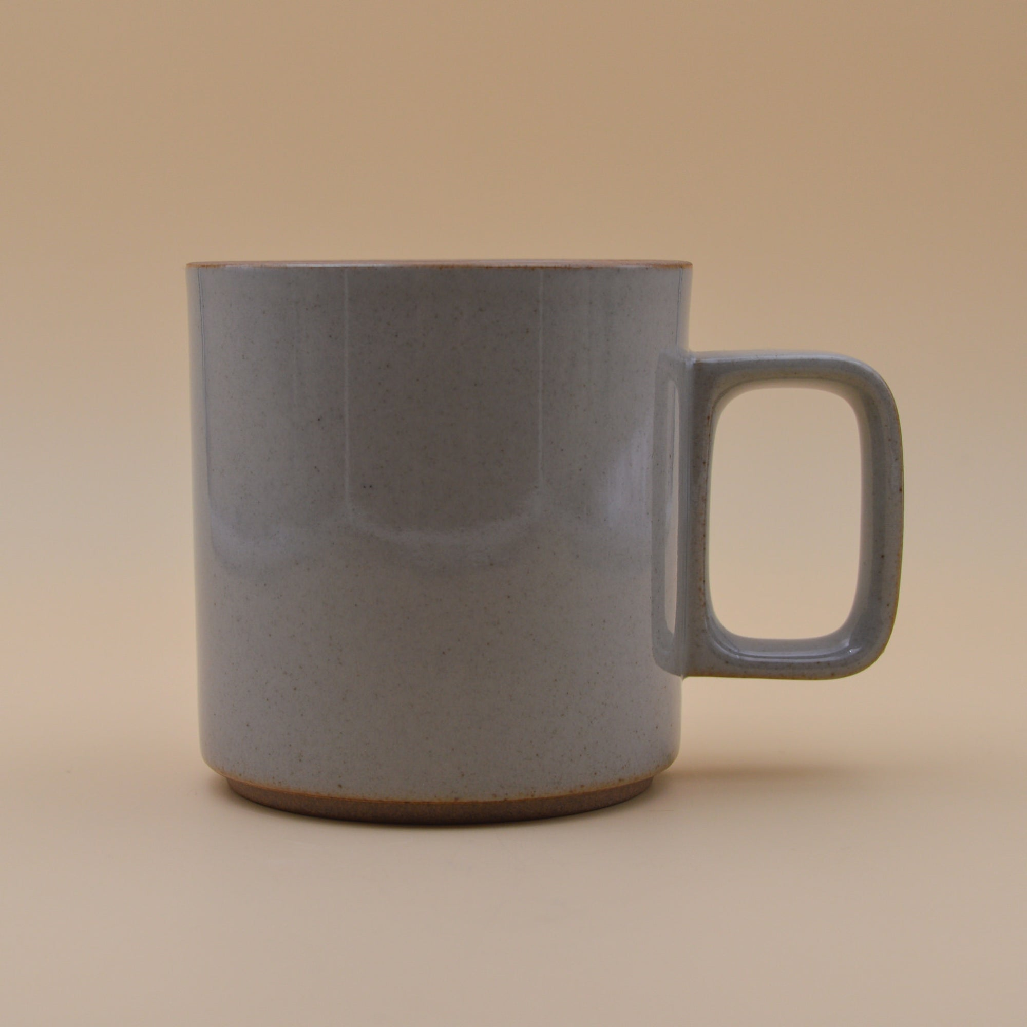 Hasami Porcelain Mug (gloss grey)