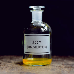 Apothecary Bottle - Joy (Undiluted)