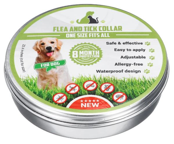 Adjustable Flea & Tick Remedy Collar Pet Dog Cat Anti Inset Safety Pest Control