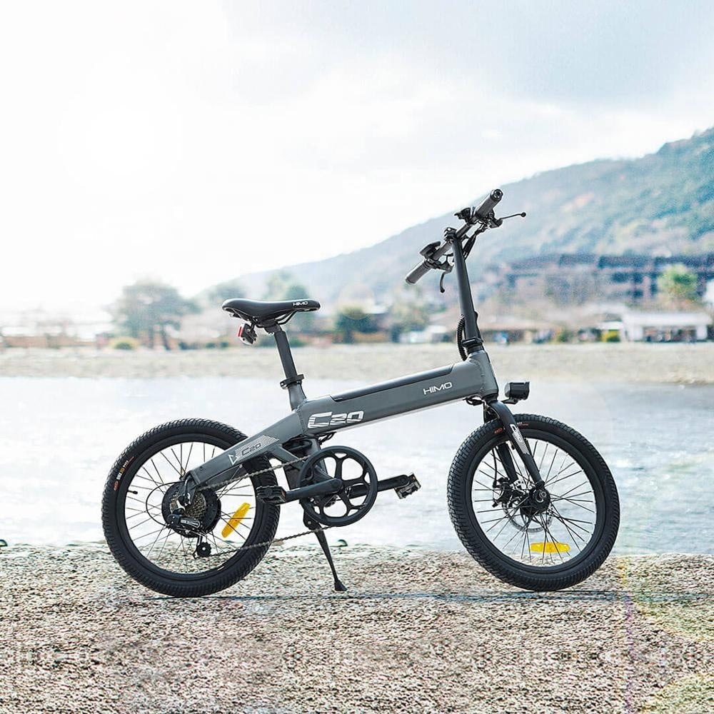 BodyPremium™ Foldable electric bicycle Xiaomi HIMO C20 36v10ah 250w DC motor city ebike Lightweight electric assist bike Range 60km