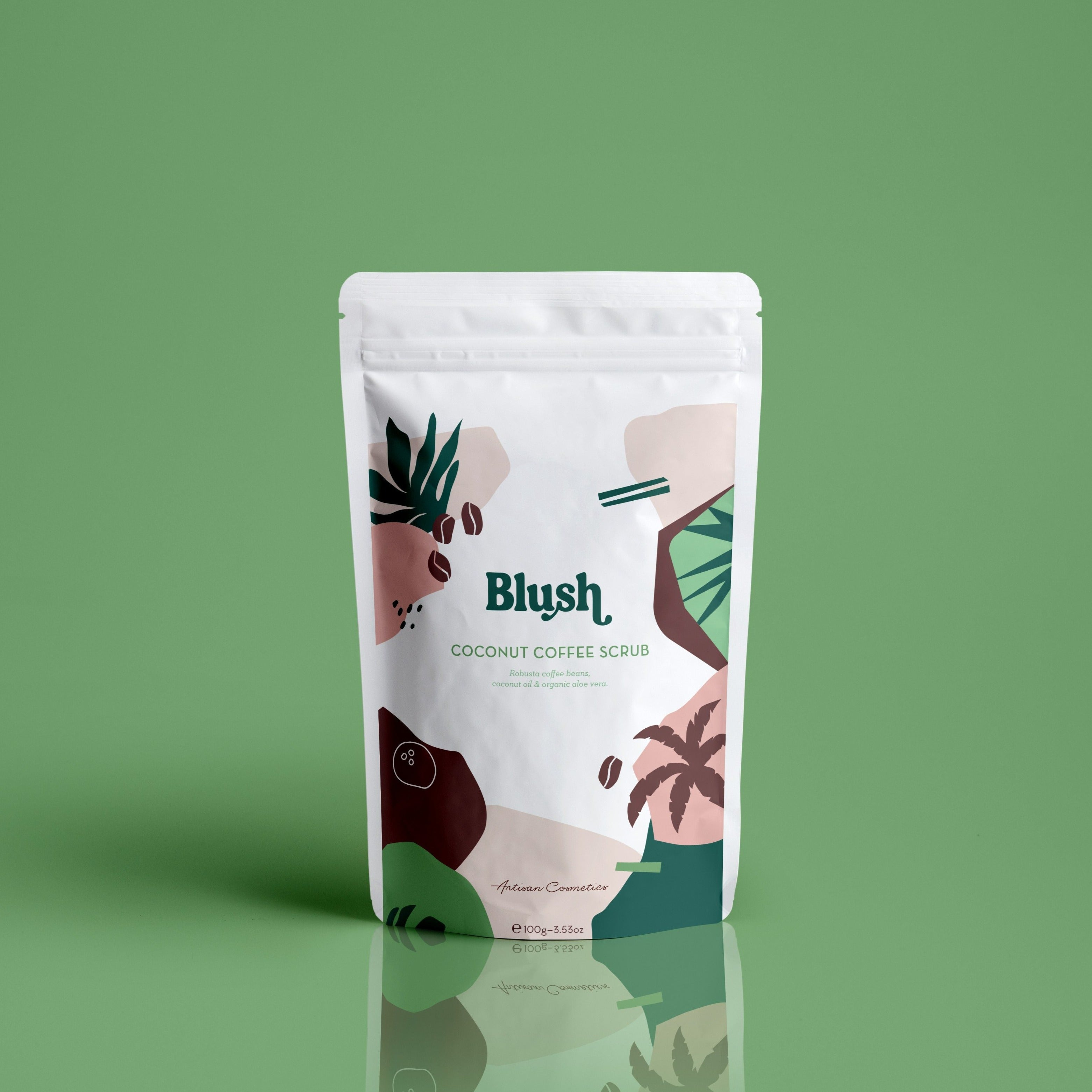 Blush Coconut Coffee Scrub