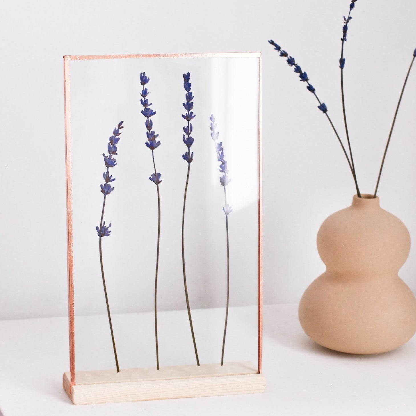 Lavander Copper Frame