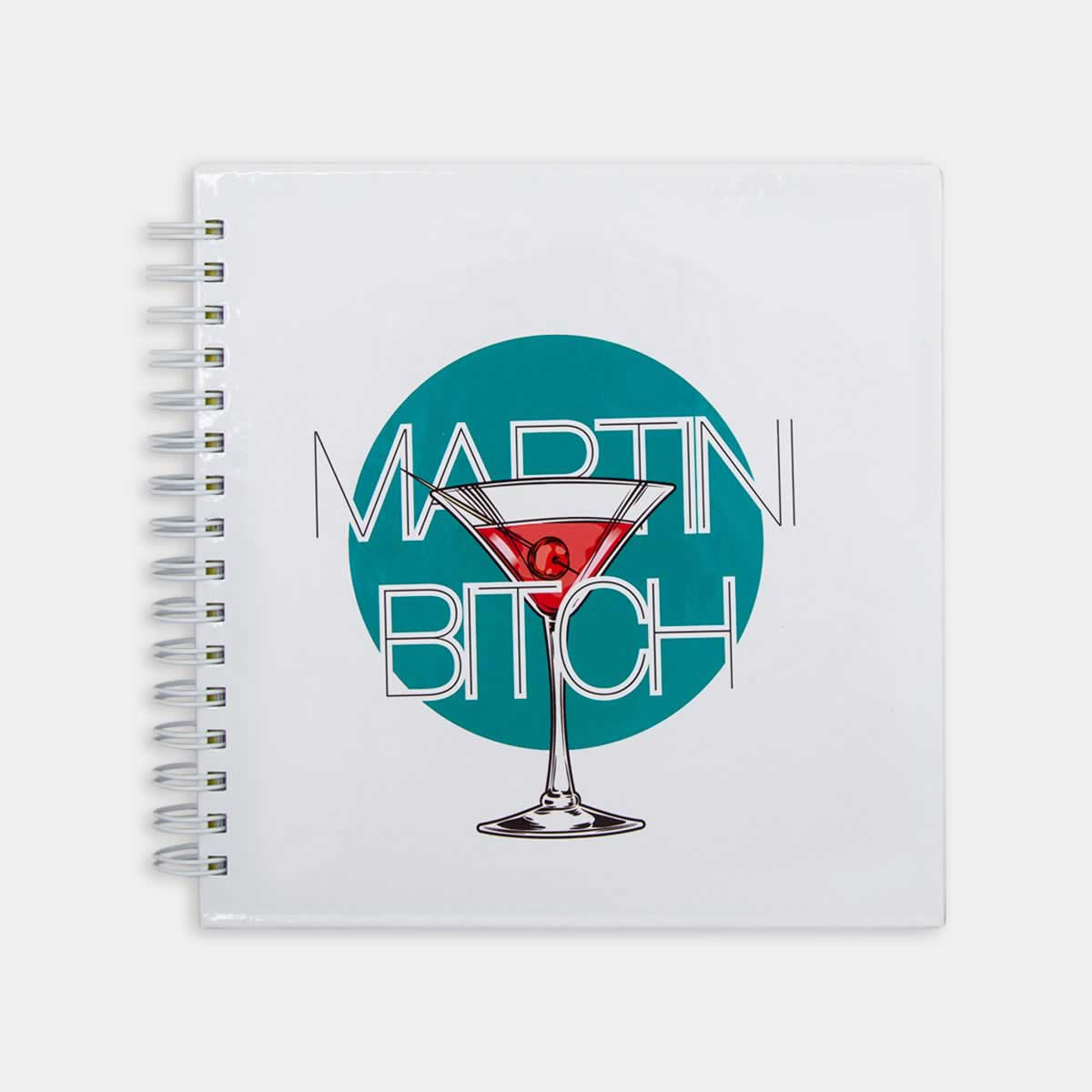 Hipster Series Notebooks - Icons: Martini Bitch