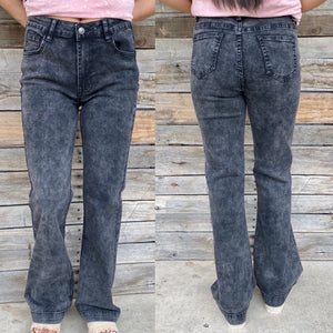 Black Denim Trouser