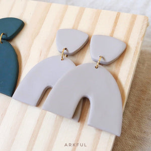 Back to Basics - Grace Earring in TAUPE