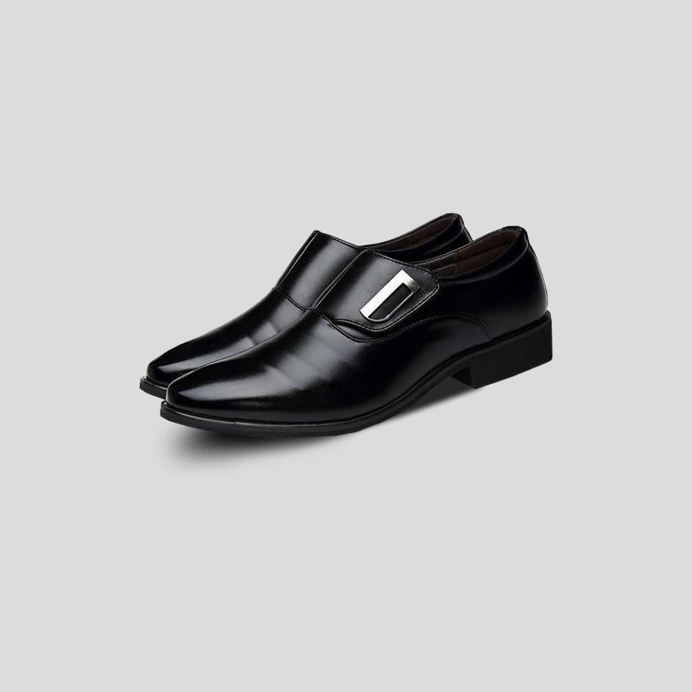 Cromarty Black Minimalist Dress Shoes