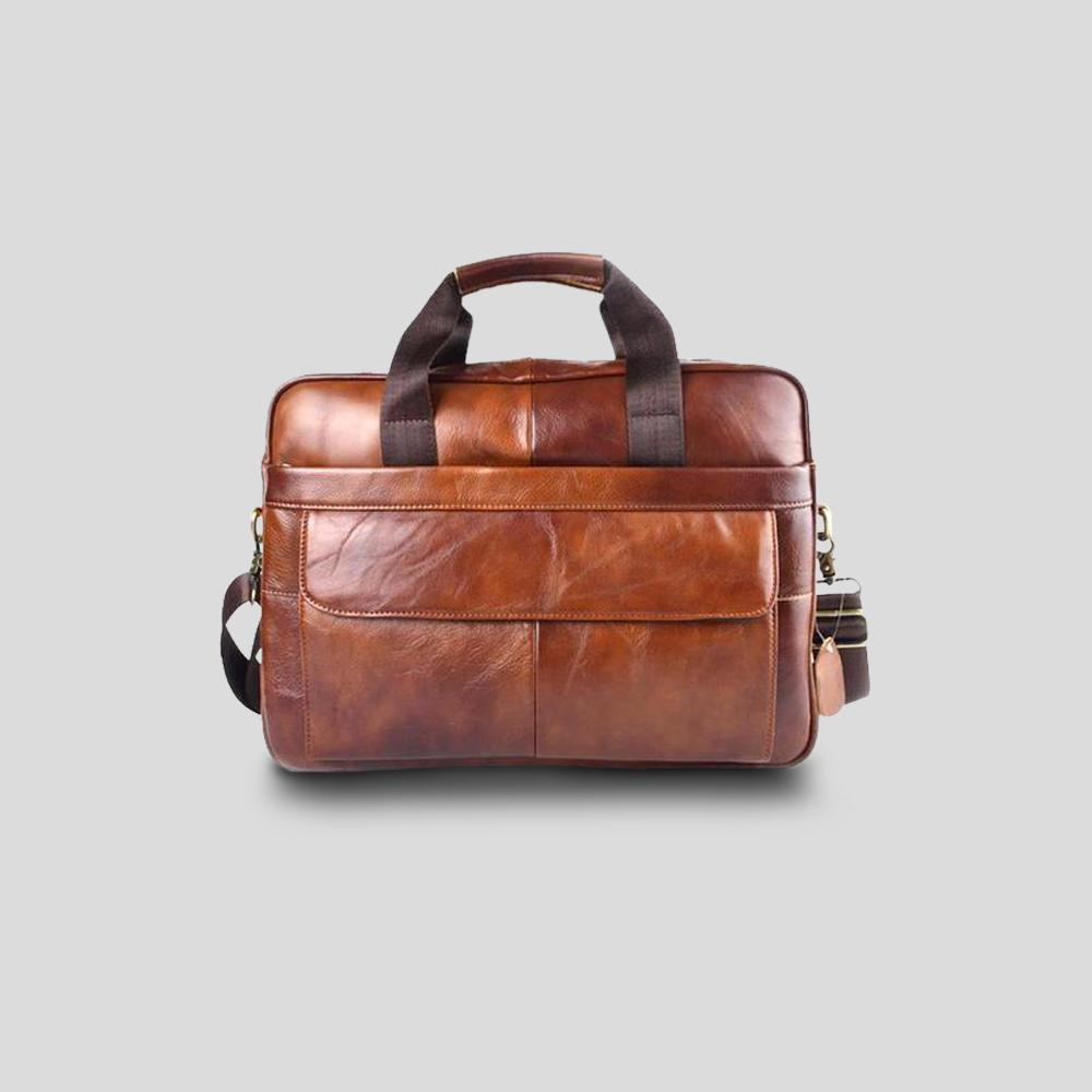 Runcorn Leather Laptop Bag