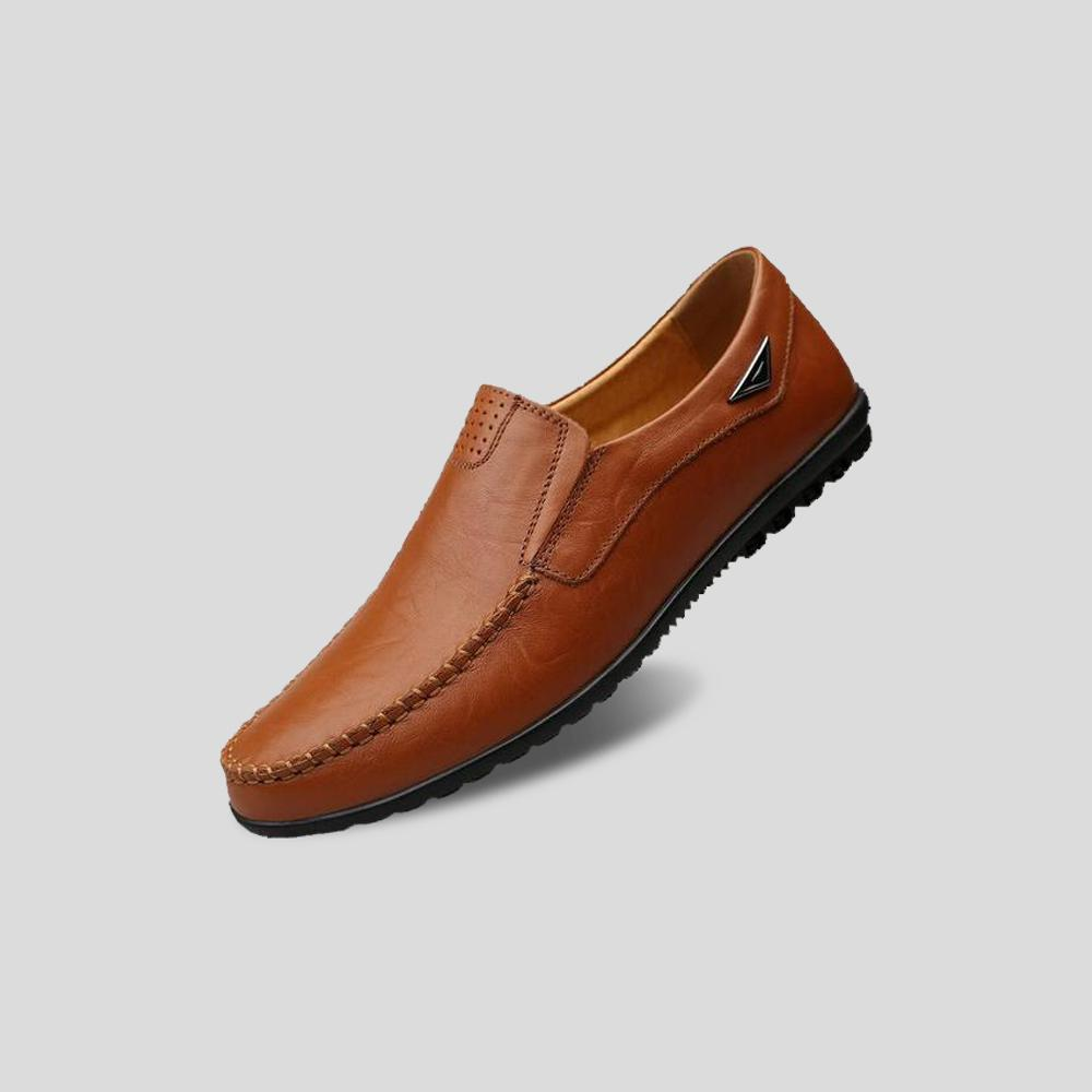 Alness Leather Moccasins