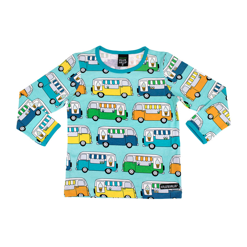 LS T-Shirt - Ice Cream Truck - Reef