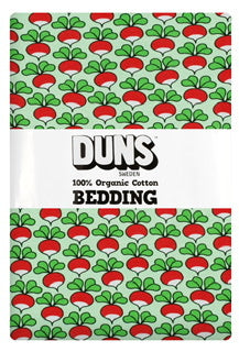 DUNS Adult Bedding & Pillowcase - Radish - Green