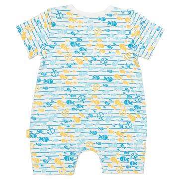 Fish explorer romper
