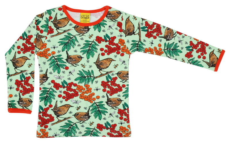 Long Sleeve Top - Rowanberry - Green