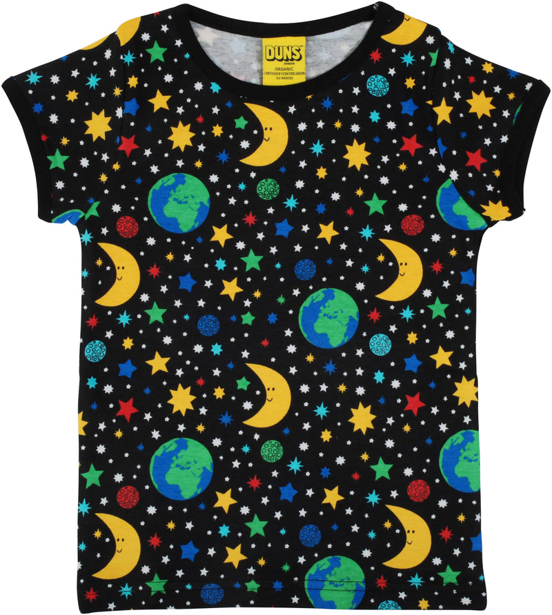 Short Sleeve Top - Mother Earth - Black