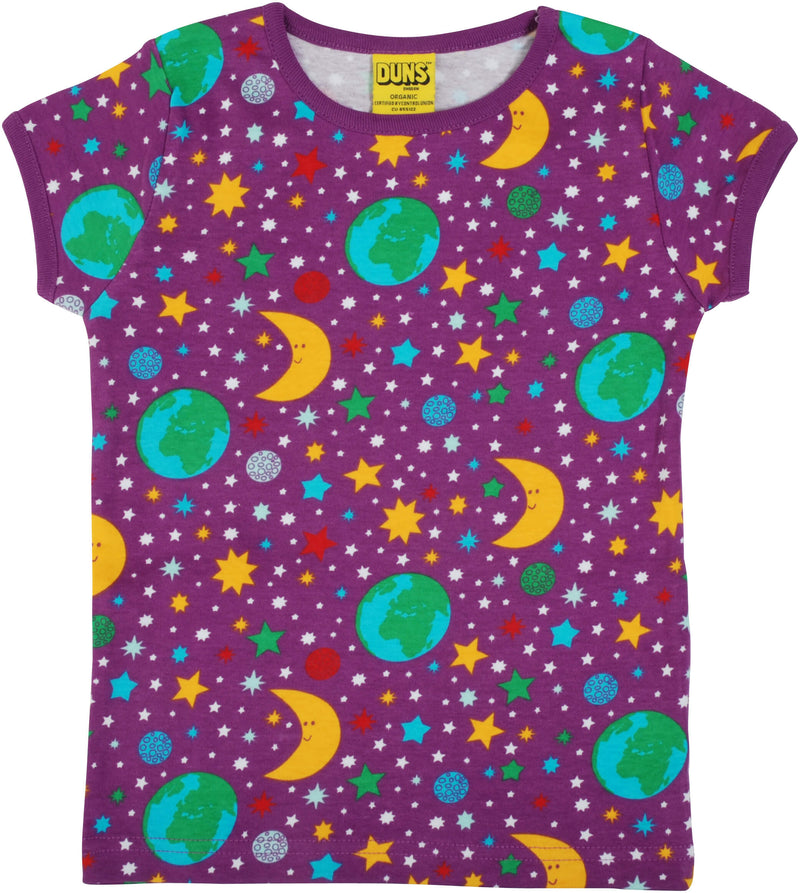 Short Sleeve Top - Mother Earth - Bright Violet