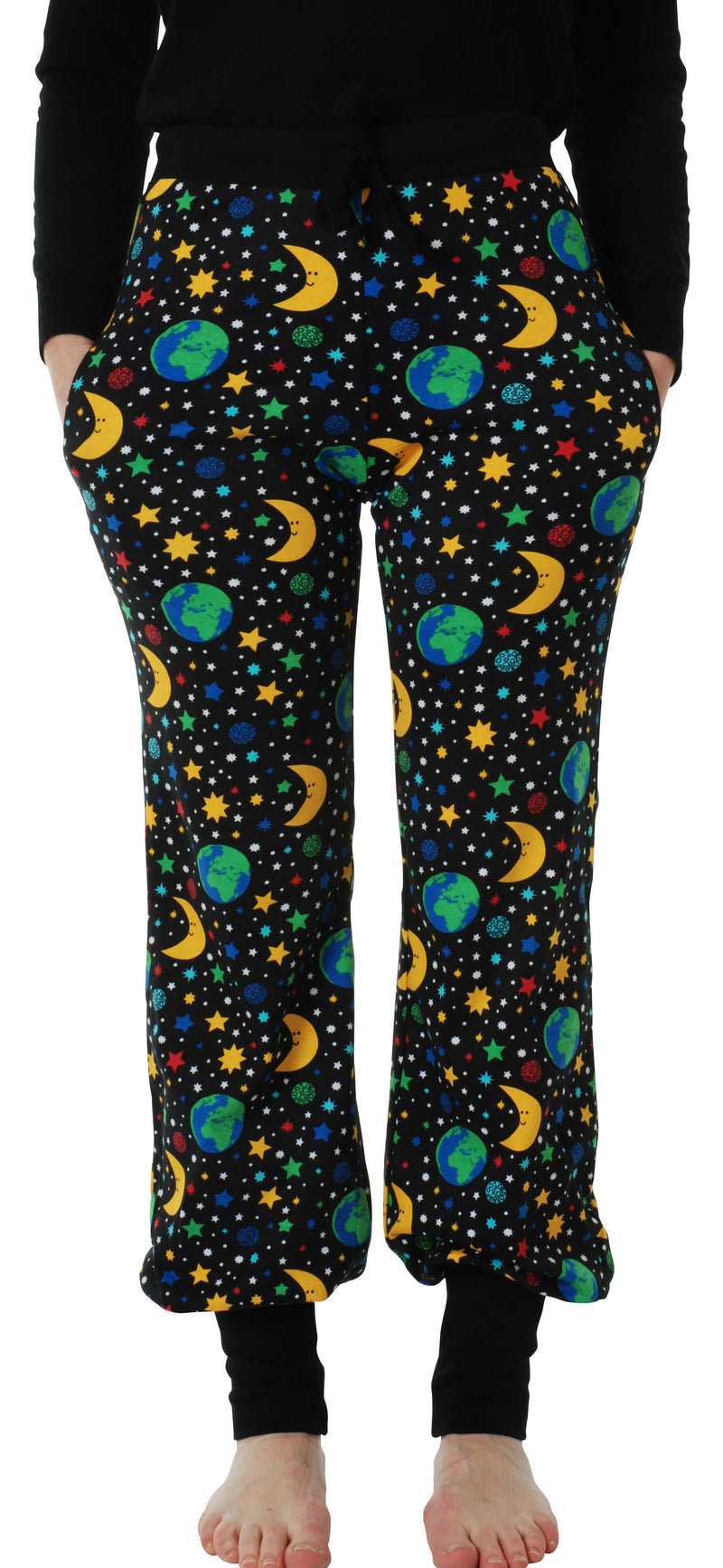 Adult Baggy Pants - Mother Earth - Black