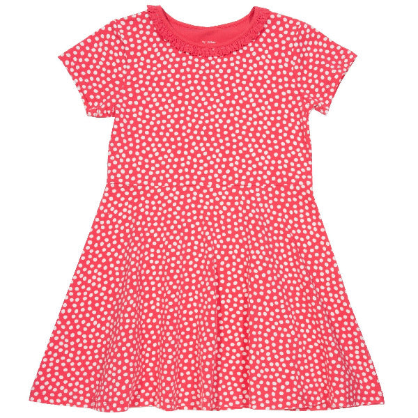 Dotty skater dress