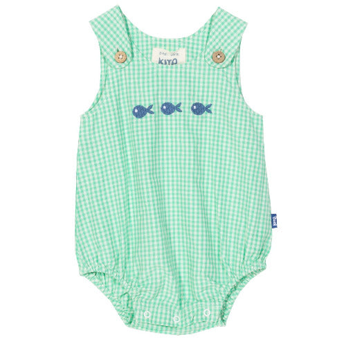 Fish bubble romper