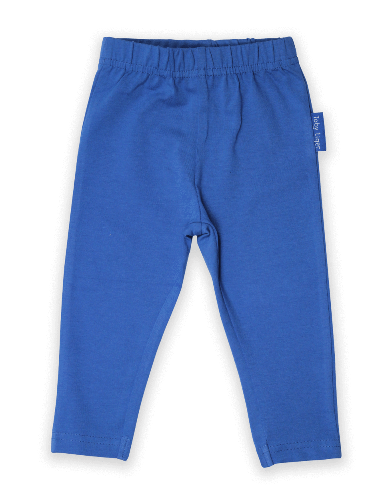 Blue Basic Leggings