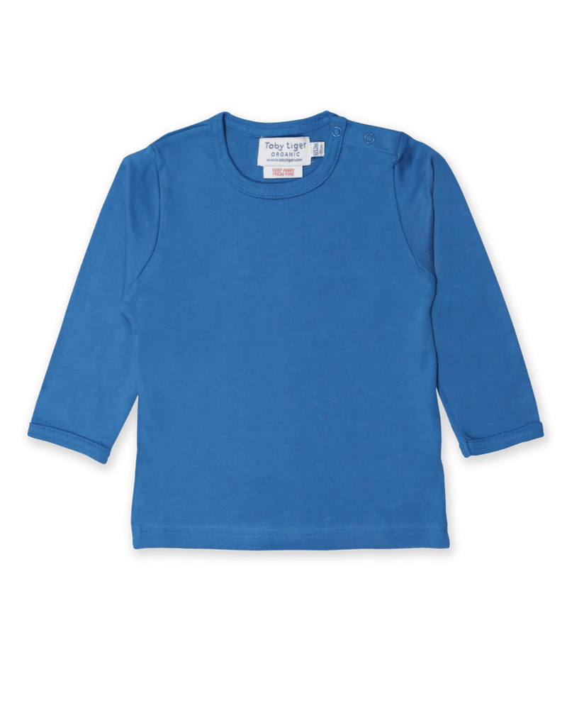Blue Basic LS T-Shirt