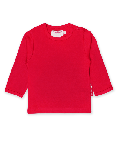 Red Basic LS T-Shirt