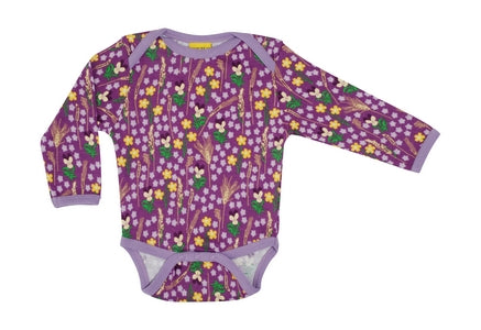 Long Sleeve Body - Meadow Purple