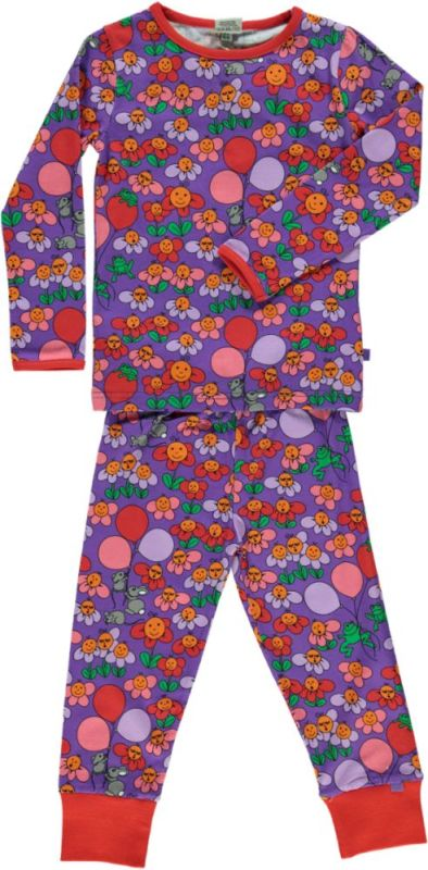 Pyjama - Flowers - Purple Heart