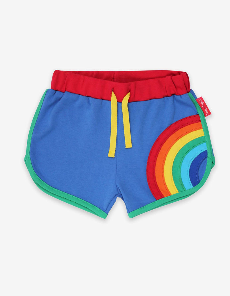 Rainbow Applique Running Shorts