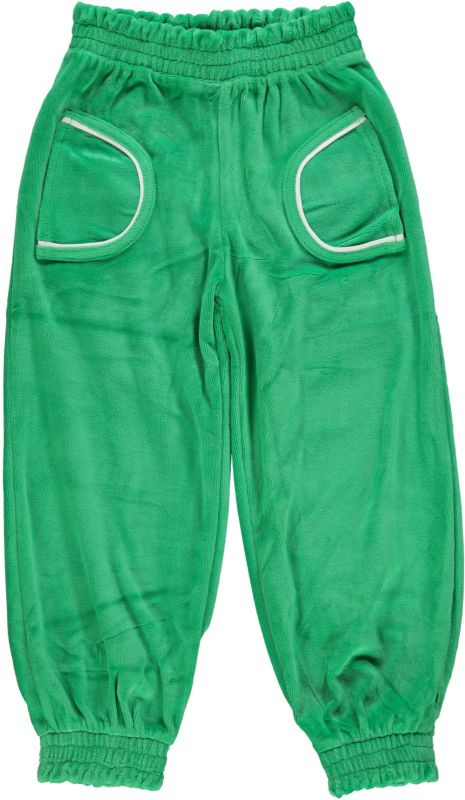 Velvet Pant - Apple green