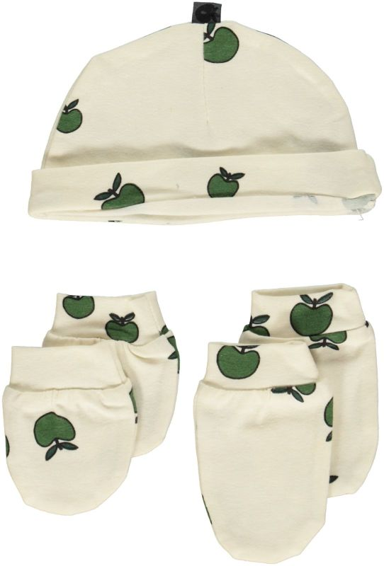 Green Fall Apples Premature Hat-Glove-Footies