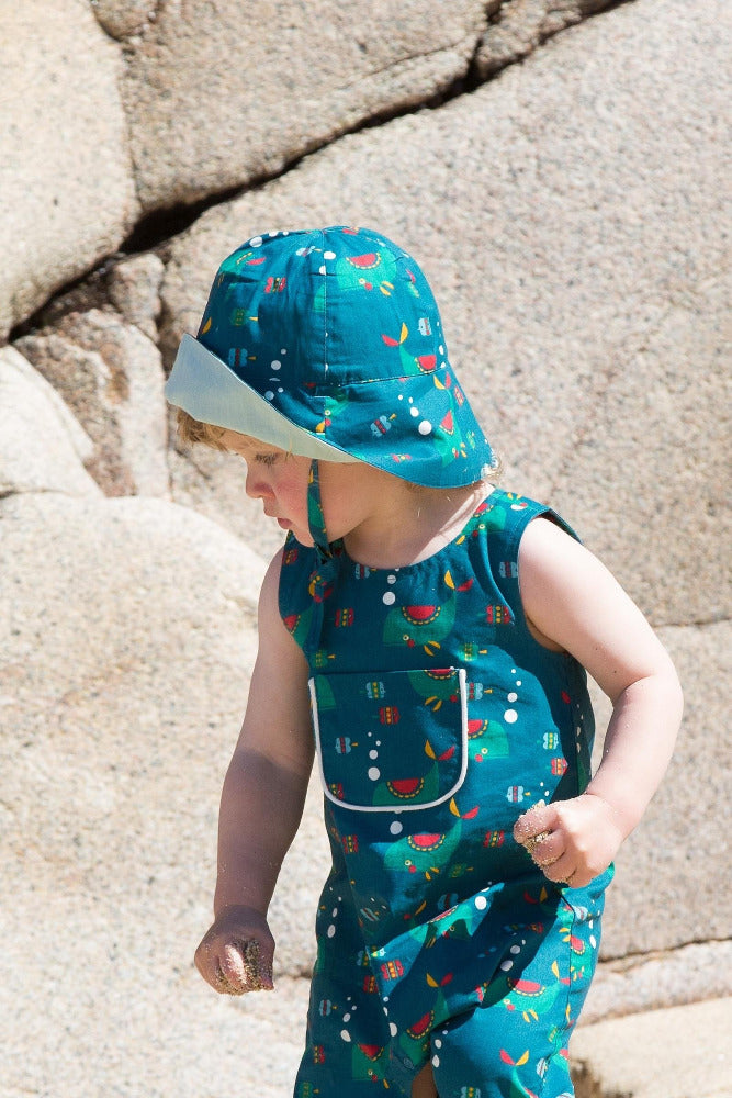 Whale Of A Time Reversible Sunhat