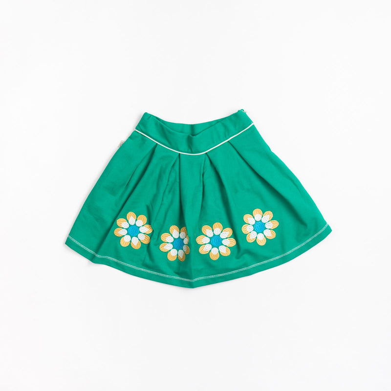 Nelly Skirt - Pepper Green