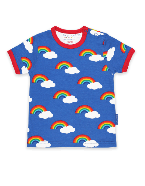 Multi Rainbow Print T-Shirt