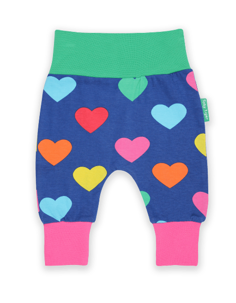 Multi Heart Print Yoga Pants