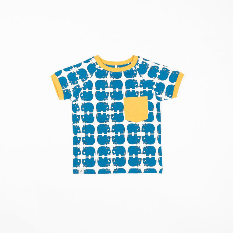 Simon T-Shirt - Snorkel blue Wanna Be An Animal