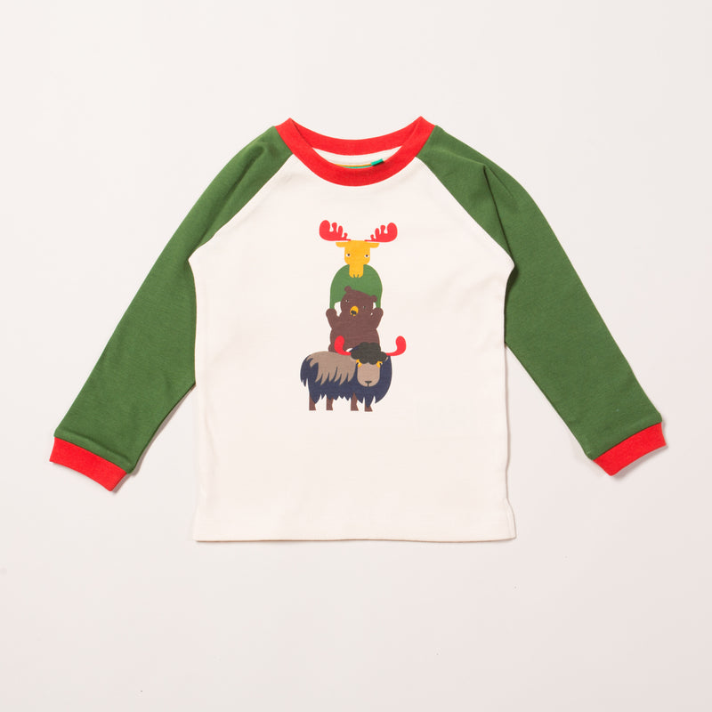 Nordic Animals Raglan Tee