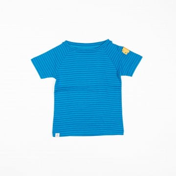 Sigurd T-Shirt - Methyl Blue Magic Stripes