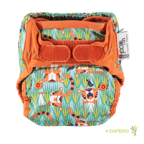 Close Pop-in New Gen V2 Single Nappy + bamboo - Oswald & Bo