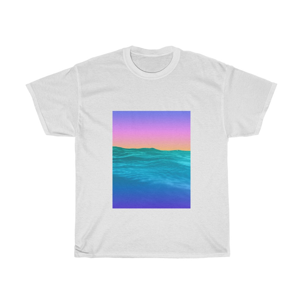 Unisex Heavy Cotton Tee - Melted Crayons