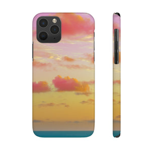 Case Mate Slim Phone Cases - Cotton Candy Clouds