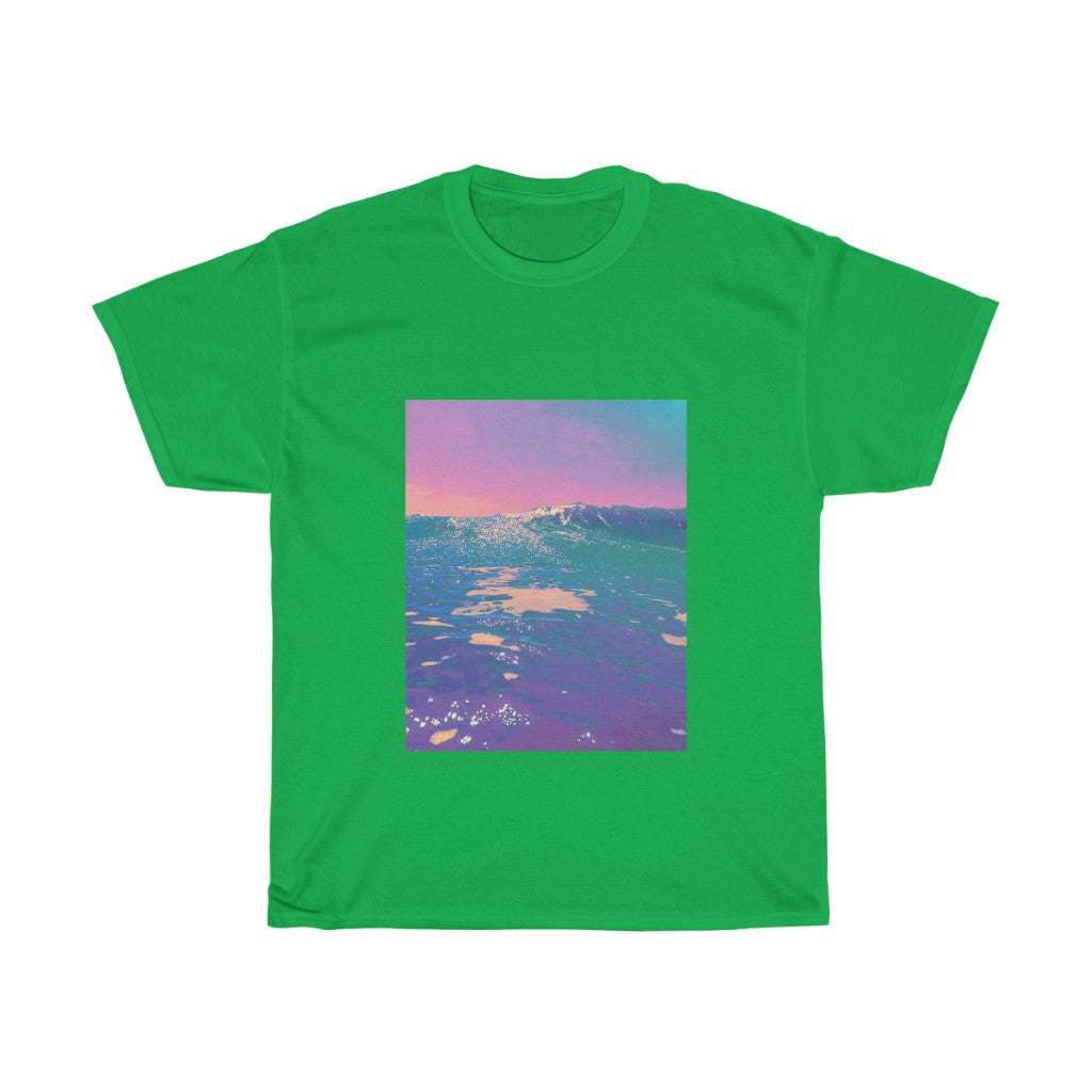 Unisex Heavy Cotton Tee - Hawaiian Sea Breeze