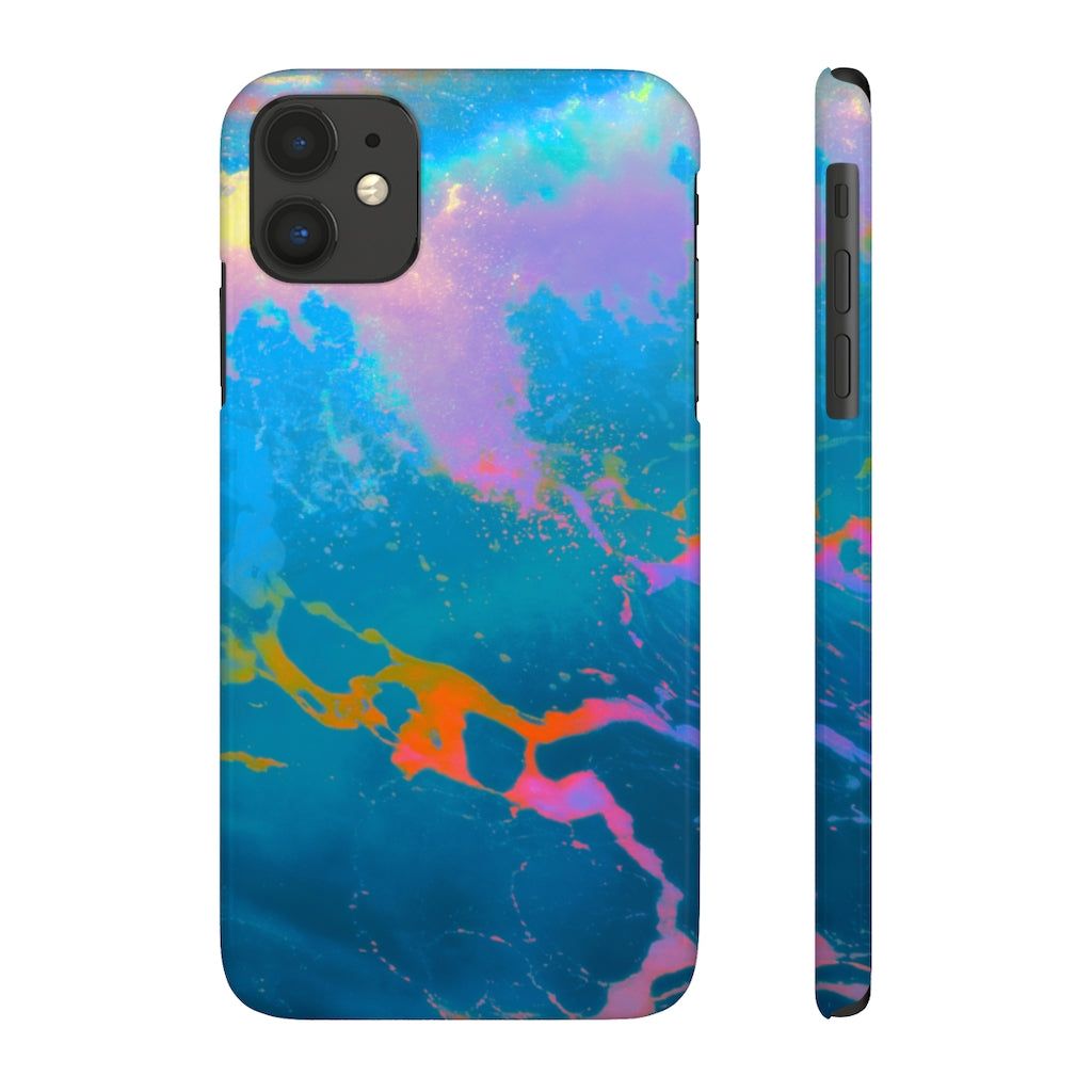 Case Mate Slim Phone Cases - Mermaid's Bath Water