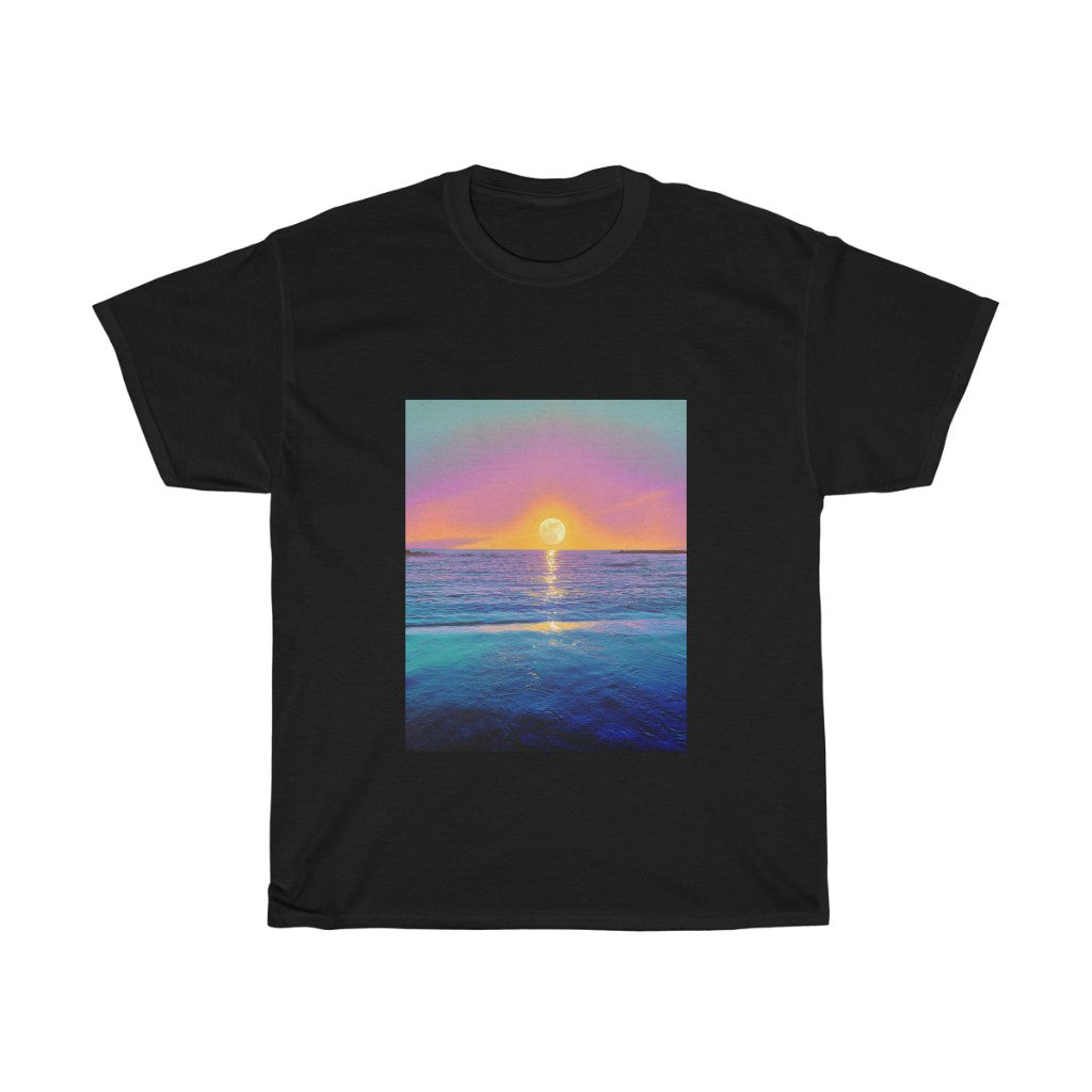 Unisex Heavy Cotton Tee - Magic Moon