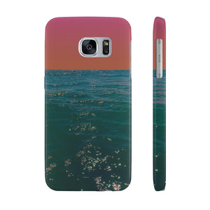 Case Mate Slim Phone Cases - Burning Summer's Evening