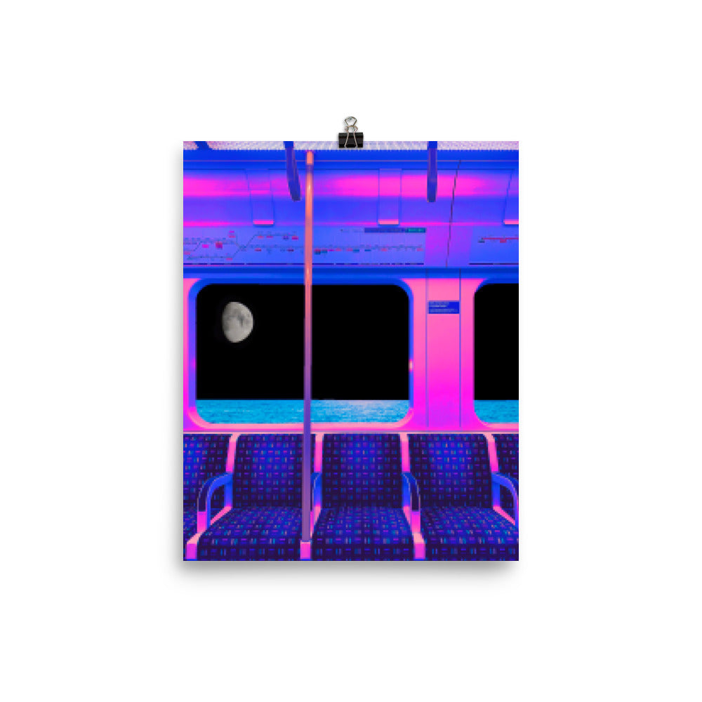 Poster - Pixelated Dreams