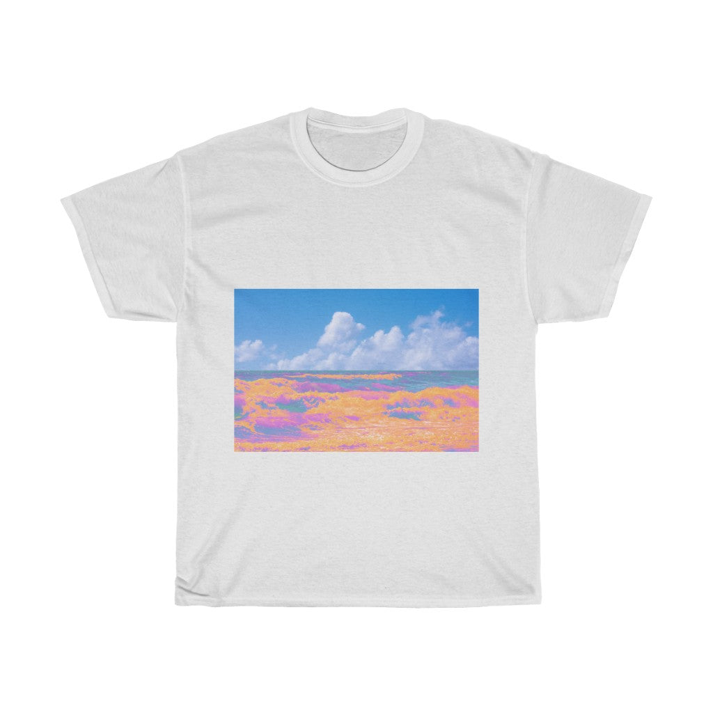 Unisex Heavy Cotton Tee - Candy Reef
