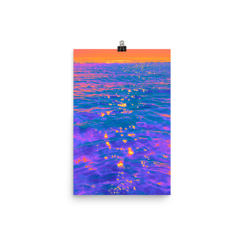 Poster - Pacific Sunset
