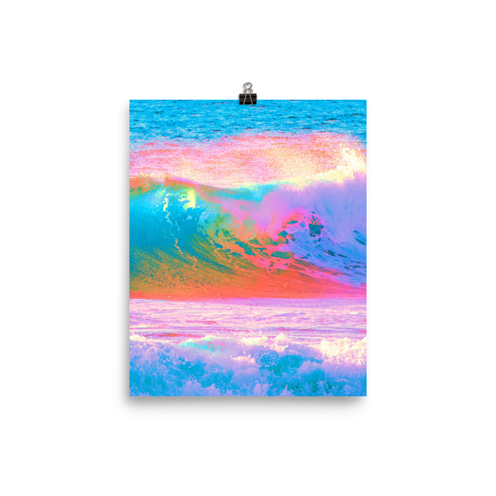 Poster - Waves of Paint