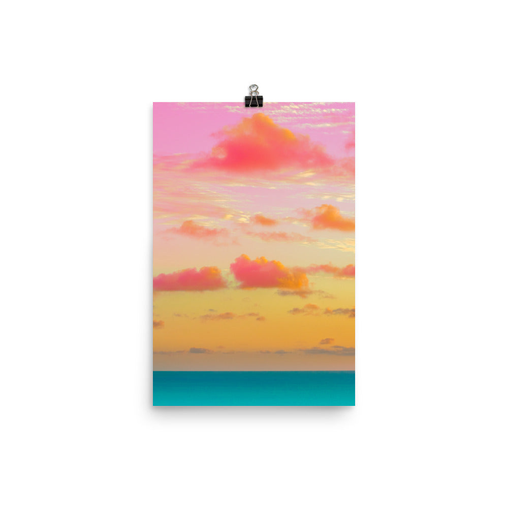 Poster - Cotton Candy Clouds