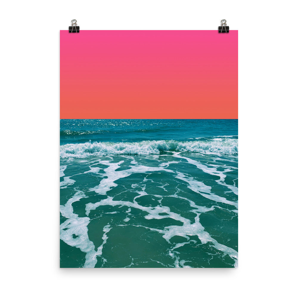 Poster - Rosey Sunset